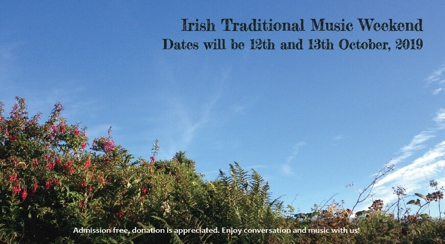 Irish Traditional Music Weekend 2019