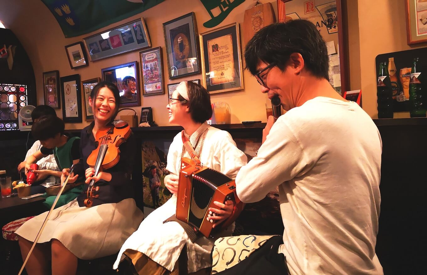 Irish Music Session iwata&ikais