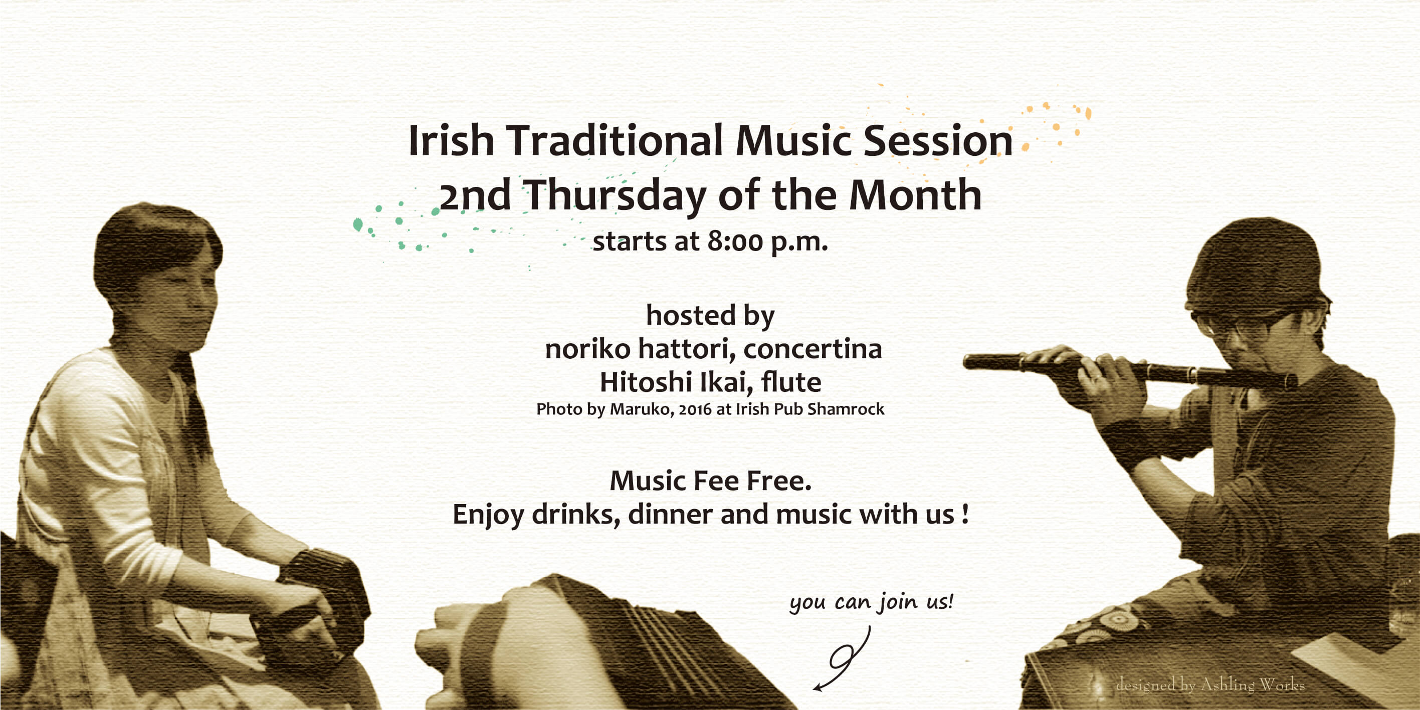 Irish Music Session Hattori&Ikai